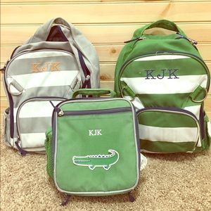 Pottery Barn Kids Backpacks & Lunch Box